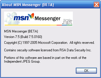 msn7.5 messenger