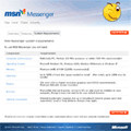 New MSN Messenger website